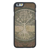 Tree of Life Carved Maple iPhone 6 Slim Case (<em>$42.20</em>)