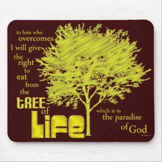 Tree of Life Christian Scripture mousepad/mousemat