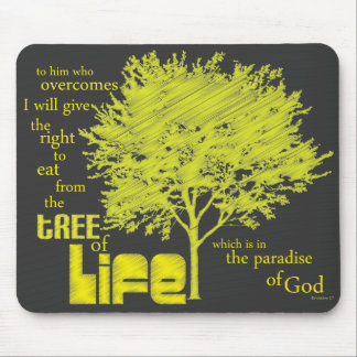 Tree of Life Christian Scripture mousepad/mousemat Mouse Pad