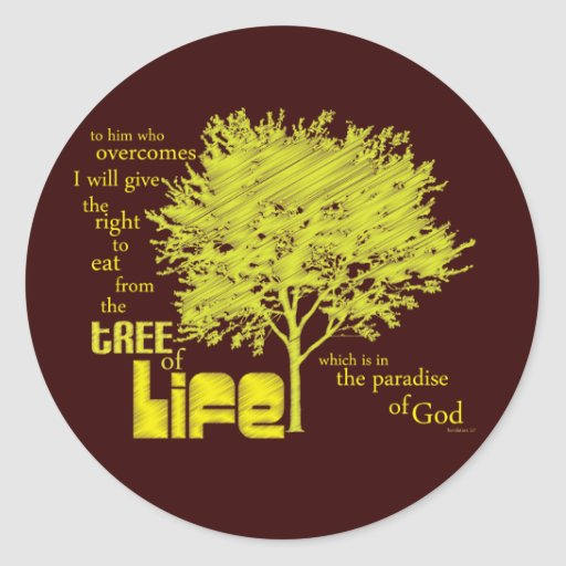 Tree of Life Christian Scripture stickers