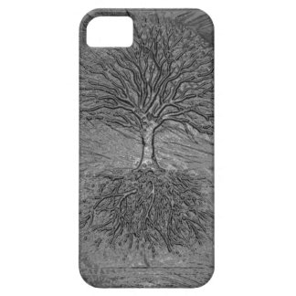 Tree of Life Chrome iPhone 5 Cover