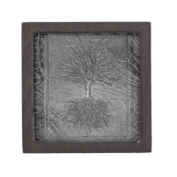 Tree of Life Chrome Gift Box