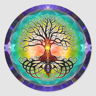 Tree Of Life Classic Round Sticker