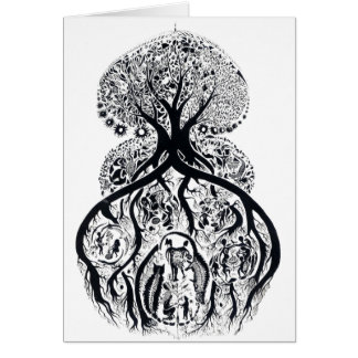 TREE of LIFE - complex Card