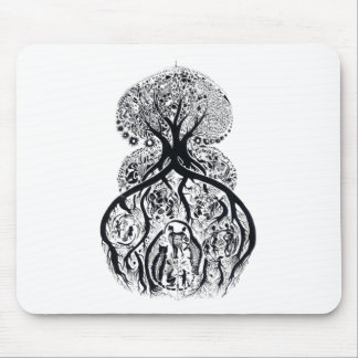 TREE of LIFE - complex Mouse Pad