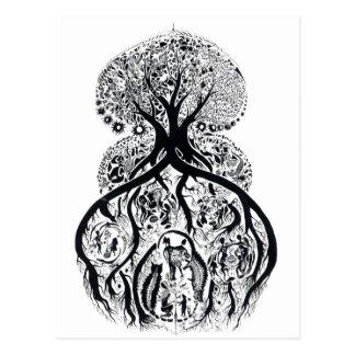 TREE of LIFE - complex Postcard