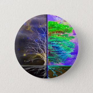 Tree of Life Connection Pinback Button