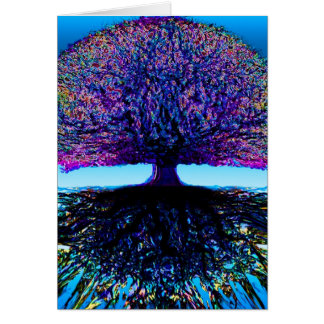 Tree of Life Constant Change and Hope Card