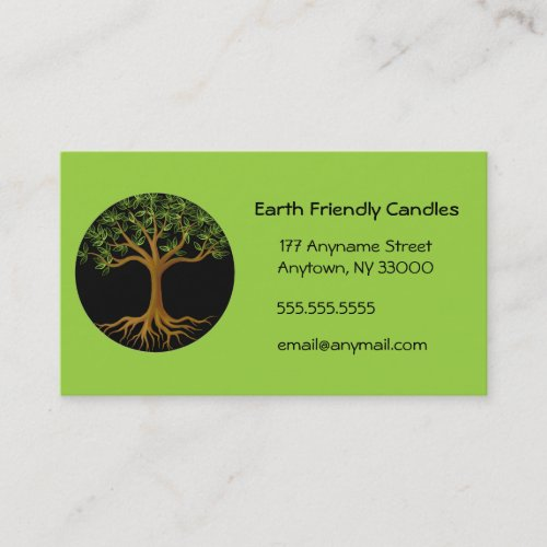 Tree of Life customizable business cards Business Card