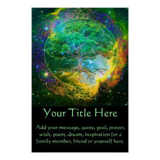 Tree of Life CustomizeABLE Poster