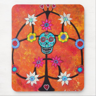 TREE OF LIFE DAY OF THE DEAD CANDLEHOLDER MOUSEPAD