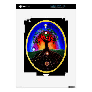Tree of life decal for iPad 2
