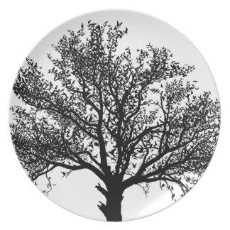 Tree of Life Dinner Plate
