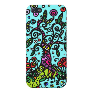 Tree of Life Doodle iPhone SE/5/5s Case