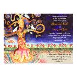 Tree of Life Doves Wedding Invitation