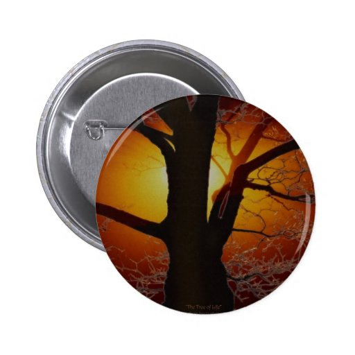 TREE OF LIFE Earth Day Gift Series 2 Inch Round Button