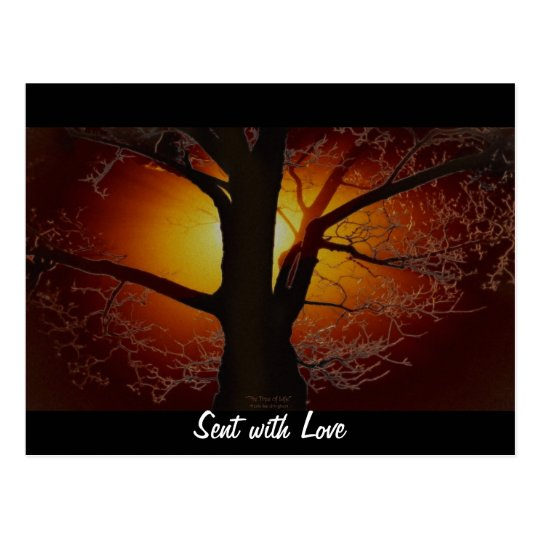 TREE OF LIFE Earth Day Gift Series Postcard