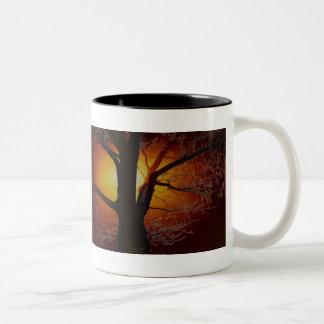 TREE OF LIFE Earth Day Gift Series Two-Tone Coffee Mug