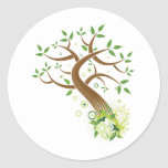 Tree of Life ~ Earth Mother Tree Round Sticker