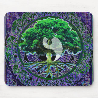Tree of Life Equilibrium Mouse Pad