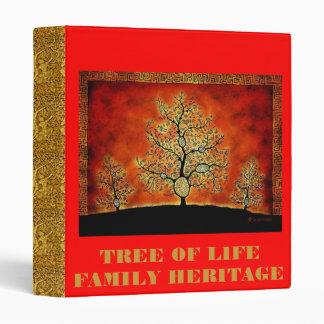 TREE OF LIFE FAMILY HERITAGE BINDER