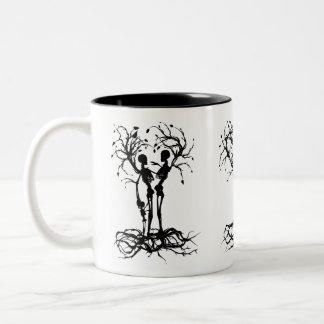 Tree of Life Family Two-Tone Coffee Mug