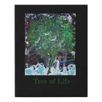 Tree of Life Faux Canvas Print