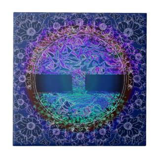 Tree of Life Forgiveness and Love Ceramic Tile