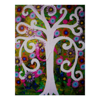 TREE OF LIFE GARDEN GREEN POSTER