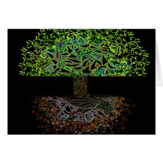 Tree of Life Glow Card
