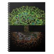 Tree of Life Glow Spiral Notebook (<em>$13.70</em>)