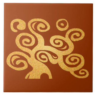 Tree of life gold version tile