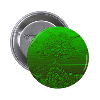 Tree of Life Green Energy Button