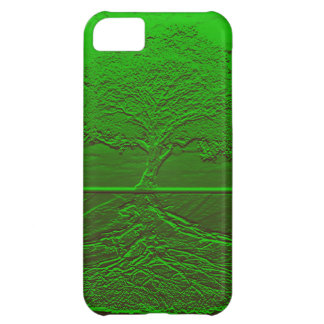 Tree of Life Green Energy Cover For iPhone 5C