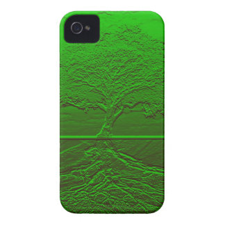 Tree of Life Green Energy iPhone 4 Case-Mate Case
