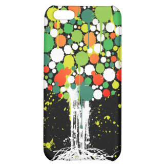 Tree of life Green iPhone 4 Case - on Black