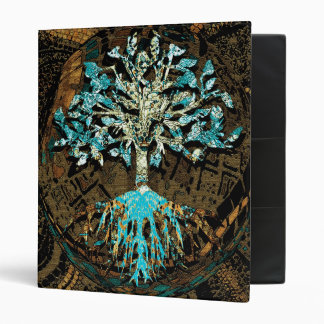 Tree of Life Grounded by Faith 3 Ring Binder