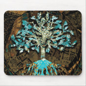 Tree of Life Grounded by Faith Mouse Pad (<em>$11.60</em>)
