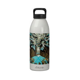 Tree of Life Grounded by Faith Reusable Water Bottles