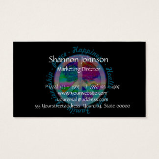 Tree of Life Happiness, Health, Love, Family Business Card