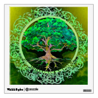 Tree of Life Health and Prosperity Wall Decal