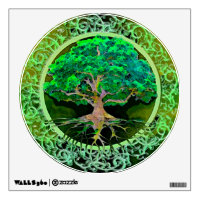 Tree of Life Health and Prosperity Wall Sticker