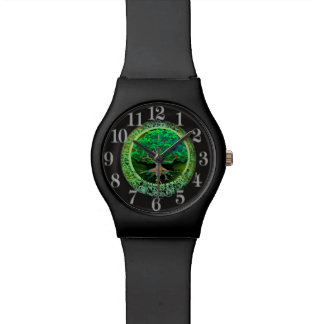 Tree of Life Health and Prosperity Wristwatches