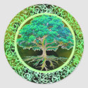 Tree of Life Health Classic Round Sticker