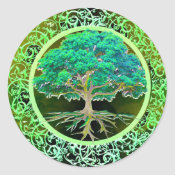 Tree of Life Health Classic Round Sticker (<em>$5.25</em>)