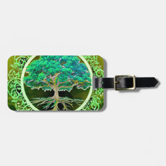 Tree of Life Health Luggage Tag