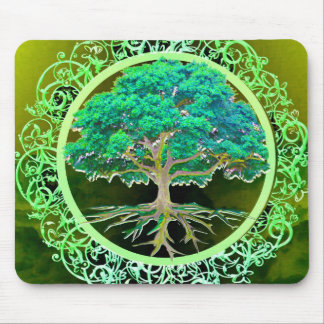 Tree of Life Health Mouse Pad