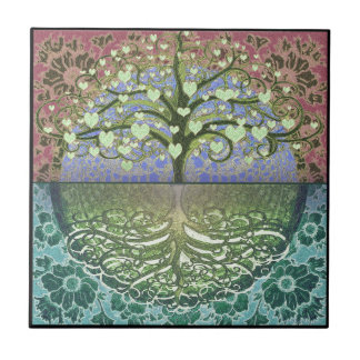 Tree of Life Heart by Amelia Carrie Tile