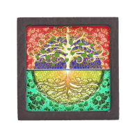 Tree of Life Heart Gift Box