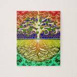 Tree of Life Heart Jigsaw Puzzles